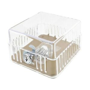 BISupply AC Thermostat Cover with Lock, AC Thermostat Lock Box Cover Thermost...