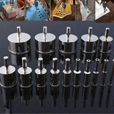 15pcs 6-50mm Diamond Hole Saw Tile Ceramic Glass Porcelain Marble Drill Bit Kits