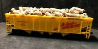 HO Union Pacific Hopper W/ Logs Load 100% Tested & Refurbished Lot P53