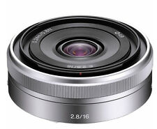 New Sony SEL 16F28 16mm F2.8 Lens for Sony E-mount (White Box)