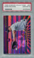 1998 Donruss Prized Collection Donruss 62 Mark McGwire /560 PSA 10 GEM MT