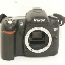 Nikon D80 10.2MP Digital SLR Camera Body Black 25412 (Battery door not included)