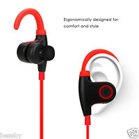 Wireless Bluetooth 4.1 Stereo Sport Earphone Headphone Headset for iphone For LG