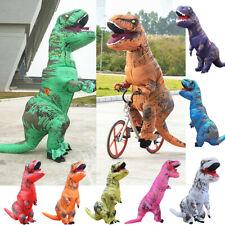 2.2M Inflatable Dinosaur Adult Fancy Costume Jurassic Park T-Rex Halloween Party
