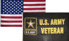 3' X 5' 3x5 USA Flag American Flag US Army Veteran Flag WHOLESALE LOT