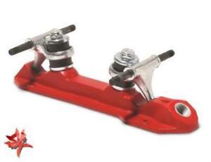 Suregrip Rock Red Quad Skate Plate - Pair