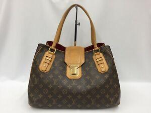 "Auth Louis Vuitton Monogram Greet Shoulder Tote bag  1D190060n"""