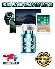 NANO Liquid Glass Screen Protector Universal Invisible Wipe-On Samsung iPhone Hi