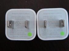 LOT 5 Original Apple iphone charger cube MODEL#A1265   SE, 5, 5s, 6, 6s, 7, 7s
