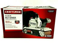 Craftsman Belt Sander, Electric 10 Amp, 4 x 24 inch, 800-1600 SFPM