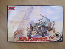 British Armoured Car Pattern Mk.2 1920 Auto Militär  1:72 *NEU*  Plastikbausatz