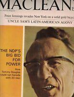 MacLean's Magazine July 24 1965 Peter Jennings Skurfers Skurfing