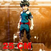 25cm Anime My Hero Academia Figure PVC Age of Heroes Figurine Deku Action Collec