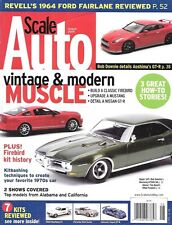Scale Auto Enthusiast 2009 Firebird Mustang Tamiya Nissan GT-R 1964 Ford