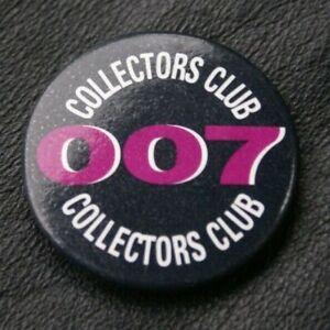 JAMES BOND 007 Pin Badge COLLECTORS CLUB