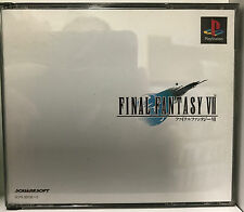 Final Fantasy VII NTSC ONLY (Sony Playstation 1, 1997)