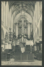 Haarlem Orgel in Groote Kerk