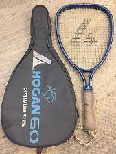 Vintage Pro-Kennex Marty Hogan Racquetball Racquet w Case 3 7/8 Grip