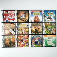 Nintendo DS Games Lot Of 12 Kids Children Complete In Case w/ Manuals Tested