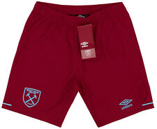 West Ham Home Shorts 20/21 Children's 100% Official WHU UMBRO All Sizes Football