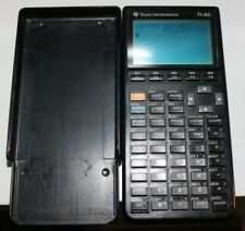 New ListingTexas Instruments Ti-85 Graphing Calculator With Cover Works Perfect