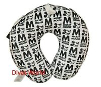 Disney Mickey Mouse Neck Rest Cushion Reversible Travel Pillow Holiday Primark