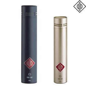 Neumann KM 184 MT NI Microphone Matte Black Nickel l Authorized Dealer