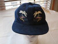 HUF Customade Headwear Mens adult adjustable hat cap surf skate one size Navy