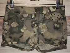 APT 9 Women's Camouflage Shorts Size 2 Camo Cotton Spandex Blend LBB76