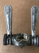 VINTAGE CAMPAGNOLO VALENTINO EXTRA LEVE CAMBIO DOWNTUBE SHIFTERS