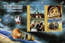 VALENTINA TERESHKOVA First Woman in Space (Cosmonaut) Stamp Sheet (2016 Grenada)