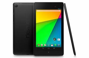 "Google Nexus 7 (2nd Gen) 2013 16GB Wi-Fi 7"" Android Tablet 2GB Quad-core 5MP"
