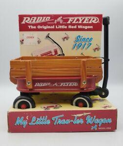 NEW RADIO FLYER LITTLE RED WAGON  MODEL 5WS  LITTLE TRAV-LER NEW SEALED BOX USA