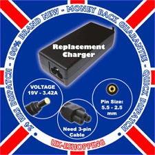 19V 3.42A Laptop Charger for Toshiba Satellite PRO L10