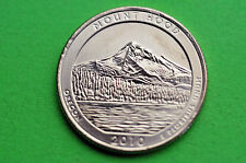 2010-P  BU  Mint State  (MOUNT HOOD)  US National  Park  Quarter