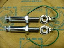 Honda CB 750 Four K0 - K2 Set  Blinkerstangen ( US ) incl. Mutter Bolt, light