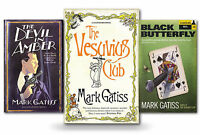 Mark Gatiss A Lucifer Box Novel Series 3 Books Collection Set (Black Butterfly)