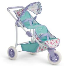 """American Girl BB DOUBLE STROLLER NEW 2016 for 15"""" Baby Dolls Furniture Carriage"""