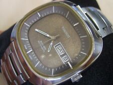 RARE AND COLLECT 70'S SS TISSOT SEVEN AUTOMATIC CAL 2940 / OMEGA 1022      *6335