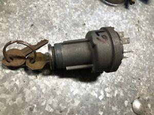 1966 67 PONTIAC GTO LeMans TEMPEST- Ignition Switch w/ Keys OEM