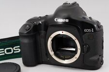 Exc++++ Counter 046 Canon EOS-1V 35mm SLR Film Camera w/Grid Screen From Japan