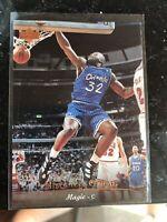 1995-96 Upper Deck #95 Shaquille O'Neal Orlando Magic NMMT Basketball Card