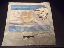 2006 Royal Mint Silver Bullion 1 ounce Britannia £2 Coin Encapsulated Sealed Bag