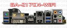 Gigabyte I/O IO Shield BLENDE GA-Z170N-WIFI GA-H170N-WIFI #G583 XH