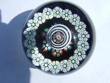 Caithness Millefiori Reflections Glass Paperweight