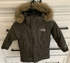 "THE NORTH FACE ""McMurdo"" Little Boy's Down Army Green Parka~~Size XXS (5)"
