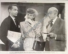 LUCILLE BALL & FRANCHOT TONE B/W ORIGINAL PHOTO SIGNED