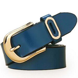 Top Quality Womens Genuine Leather Belts Fashion Belts Waistband Waist XS-6XL