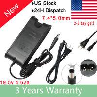 New 90W AC Adapter for Dell Latitude E5420 E5520 E6420 E6520 Charger Power Cord
