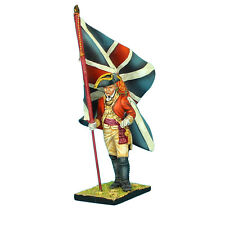 First Legion: AWI041 British 22nd Foot Standard Bearer - King's Colors